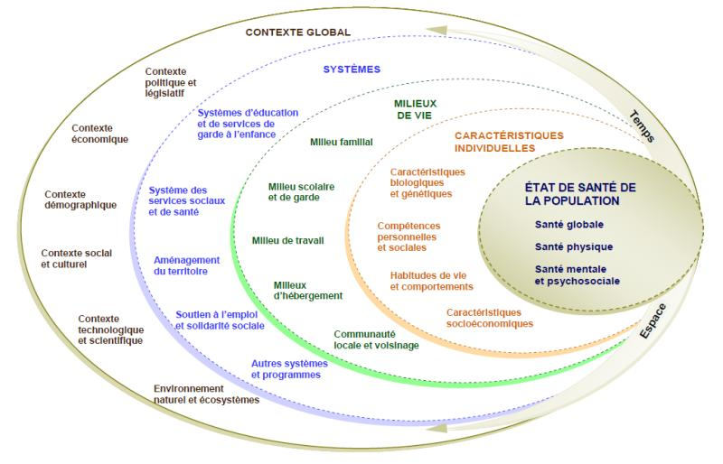 mapping déterminants de santé