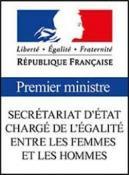Logo du secrétariat d'état sur l'égalité femmes hommes