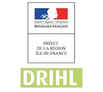 Logo de la Direction régionale et interdépartementale de l'hébergement et du logement