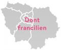 Dont données franciliennes